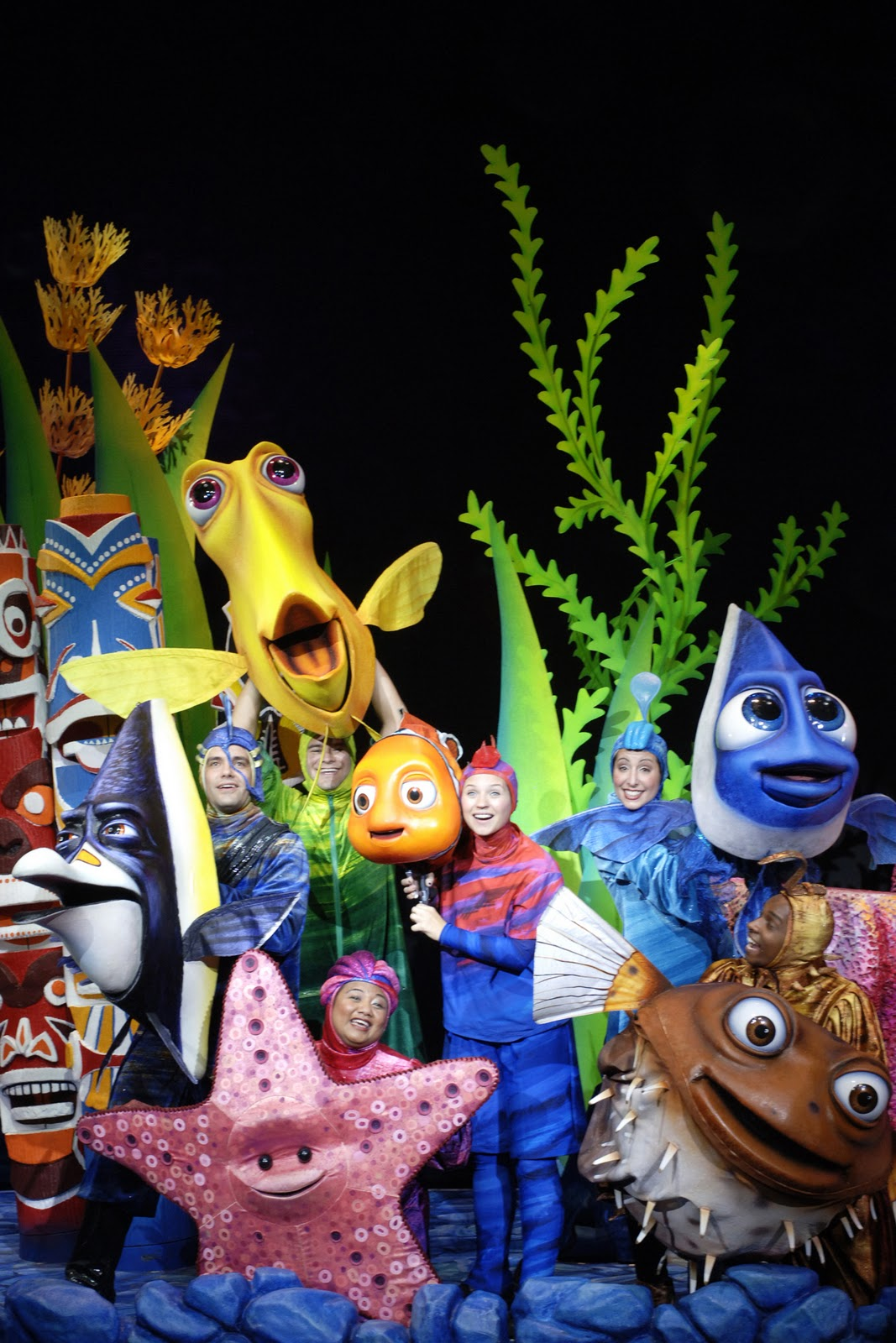Finding Nemo The Musical Making A Quot Splash Quot On Stage In A