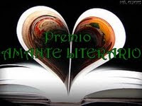 "El primer premio que recibi este blog ""Amante literario"""