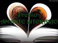 """El primer premio que recibi este blog """"Amante literario"""""""