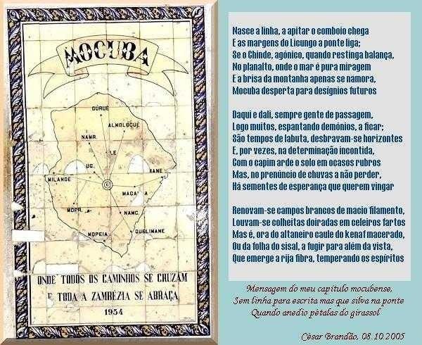 Mocuba, Geografia Poética!