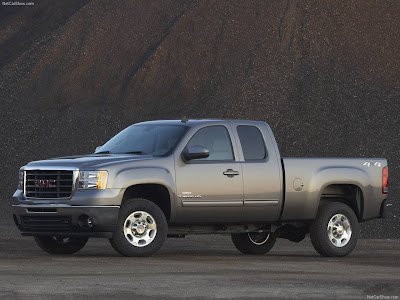 2500 HD SLT Extended Cab. 2007 Chevrolet Silverado y GMC SIERRA PICKUPS