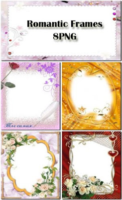 Romantic Frames PSD