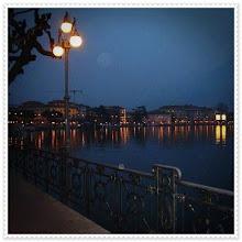 Lugano noturna.