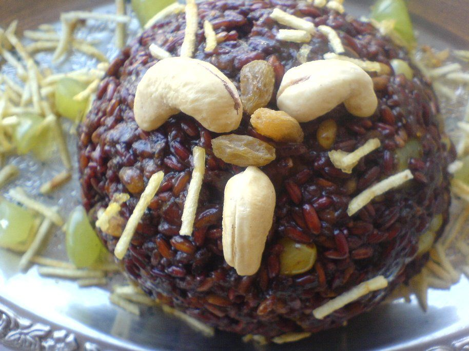 RAWk Me!: Onion, Cinnamon, and Dry Fruit Pilaf