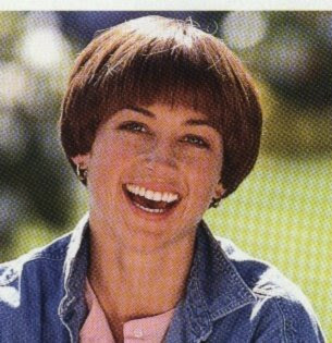 """... house and Dave took one look at Eddie and said """"Hello Dorothy Hamill"""