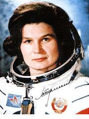Valentina Tereshkova, first woman in space.