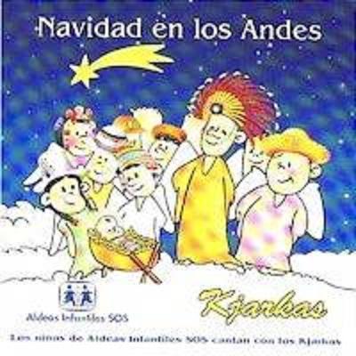 cd  navidad en los Andes grupo Kjarkas Bolivia Sos001