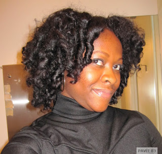 Cold Wave Rods On Natural Hair Setting 2015 | Personal Blog