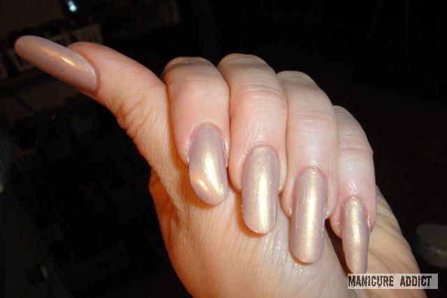 manicure addict orly blushalicious