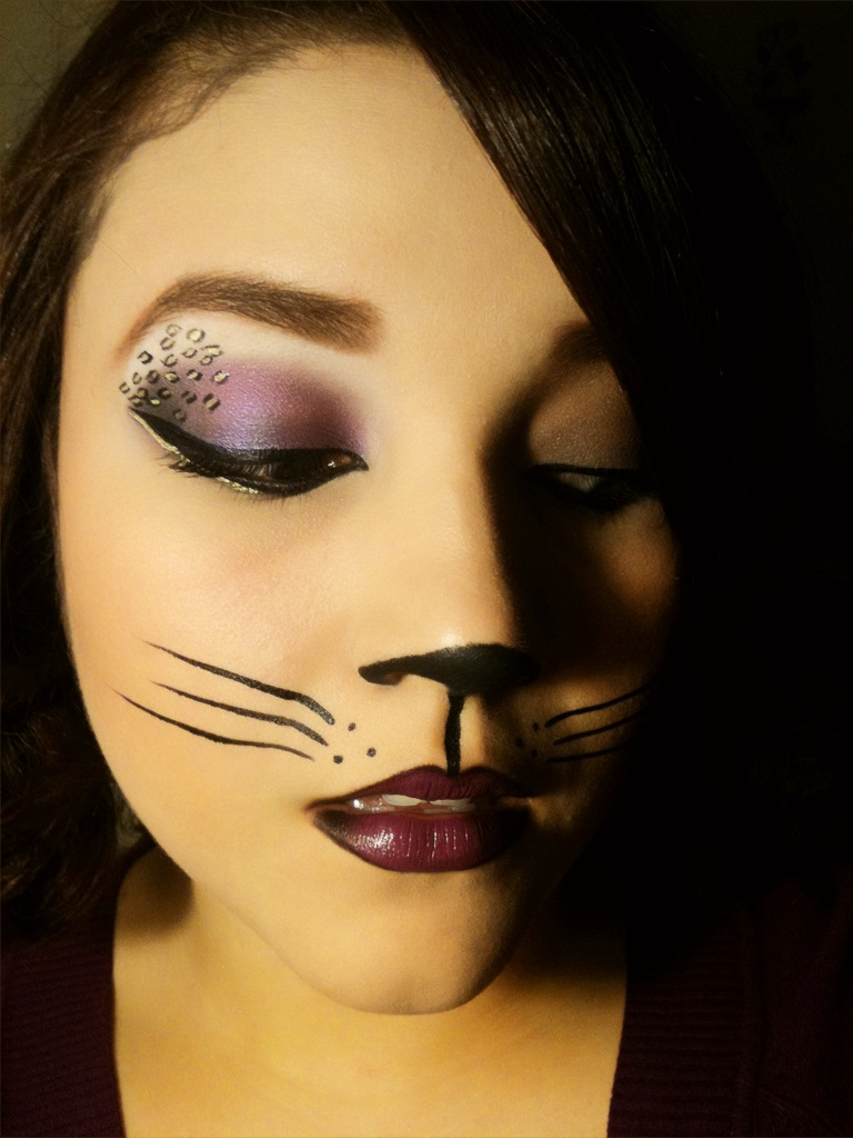 MissyDoll: Sexy Cat Halloween Makeup - Pretty Cat Halloween Makeup