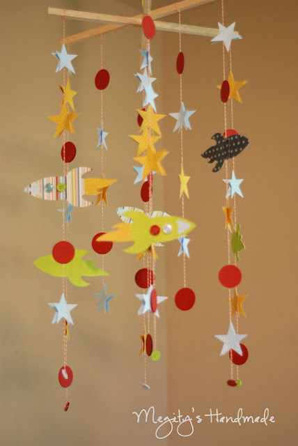 Rocket Mobile Chandelier