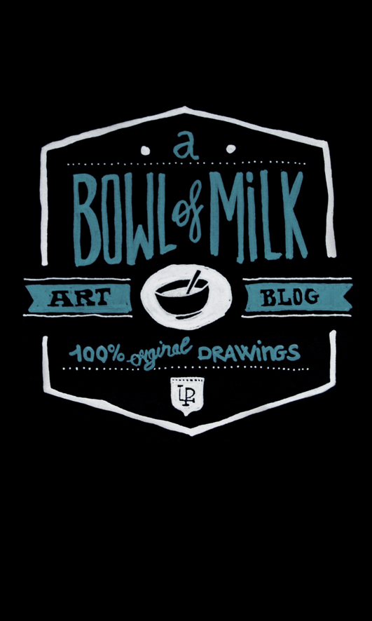 a bowl of milk