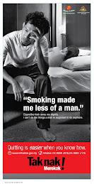 NO SMOKING, YOU MORONS!