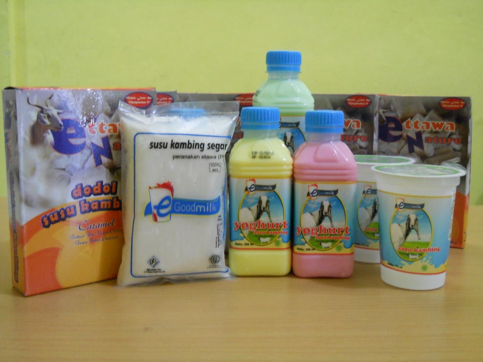 Susu Kambing egoodmilk: Yoghurt Susu Kambing