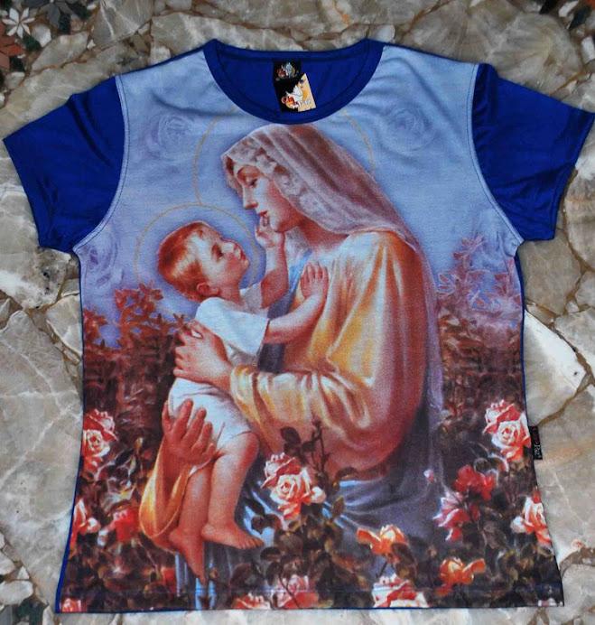 Babylook Mãe da Ternura