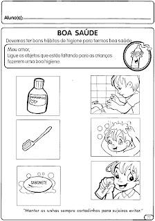 corpo,+sentido+e+higiene+(8) higiene do corpo para crianças