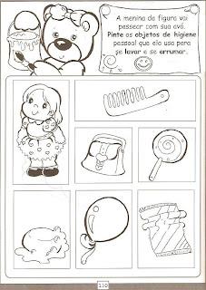 higiene higiene do corpo para crianças
