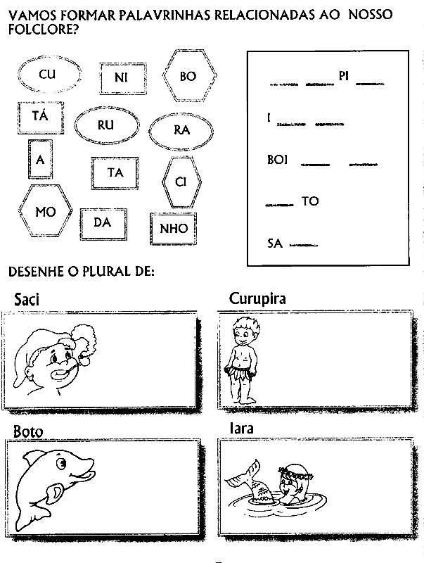 atividades de educa o infantil   folclore 15