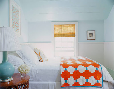 bedooms with beautiful handmade quilts