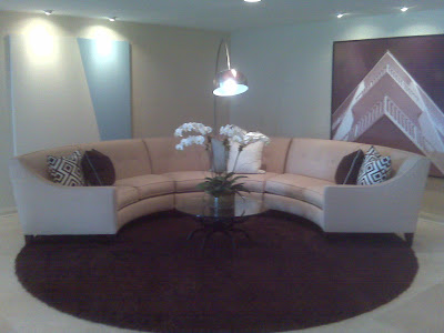 Half Round Sectional Sofa