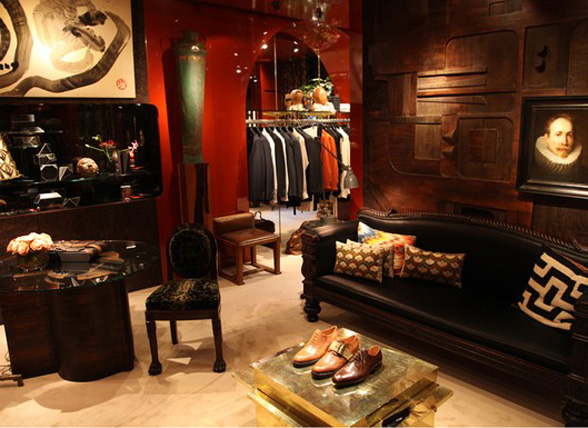 chic in paris dries van noten men 39 s store ellegant home