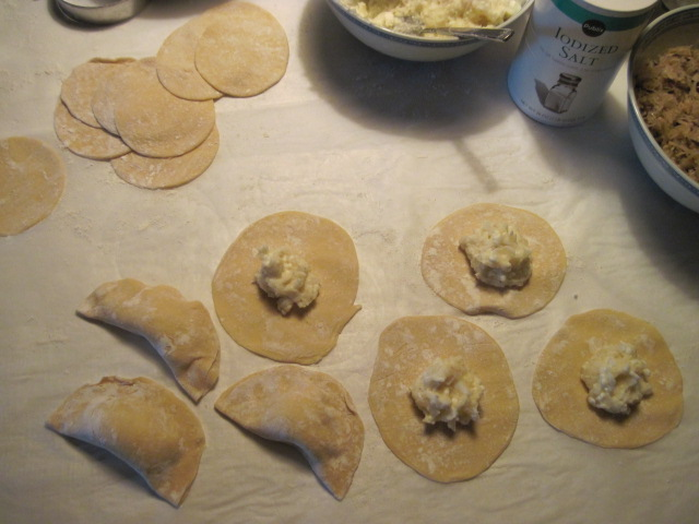 From my familys polish kitchen traditional polish christmas eve pierogi polish christmas eve recipes forumfinder Image collections