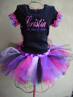 posh baby couture custom t shirt tutu dress