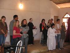 Artistas do teatro religioso do culto