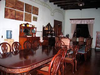 Dining Area, Villa Angela, Vigan