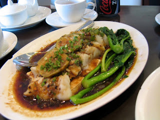 Steamed Fish Fillet with Black Bean Sauce