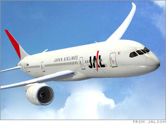 Japan AirLines (JAL) File for Bankruptcy