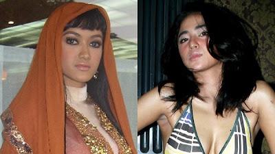 Arwah Goyang Karawang , Jupe dan Dewi Persik saling cakar , Julia Perez VS Dewi Persik