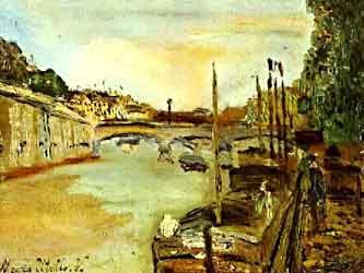 Peniches_Maurice_Utrillo_Seine_Paris_1905