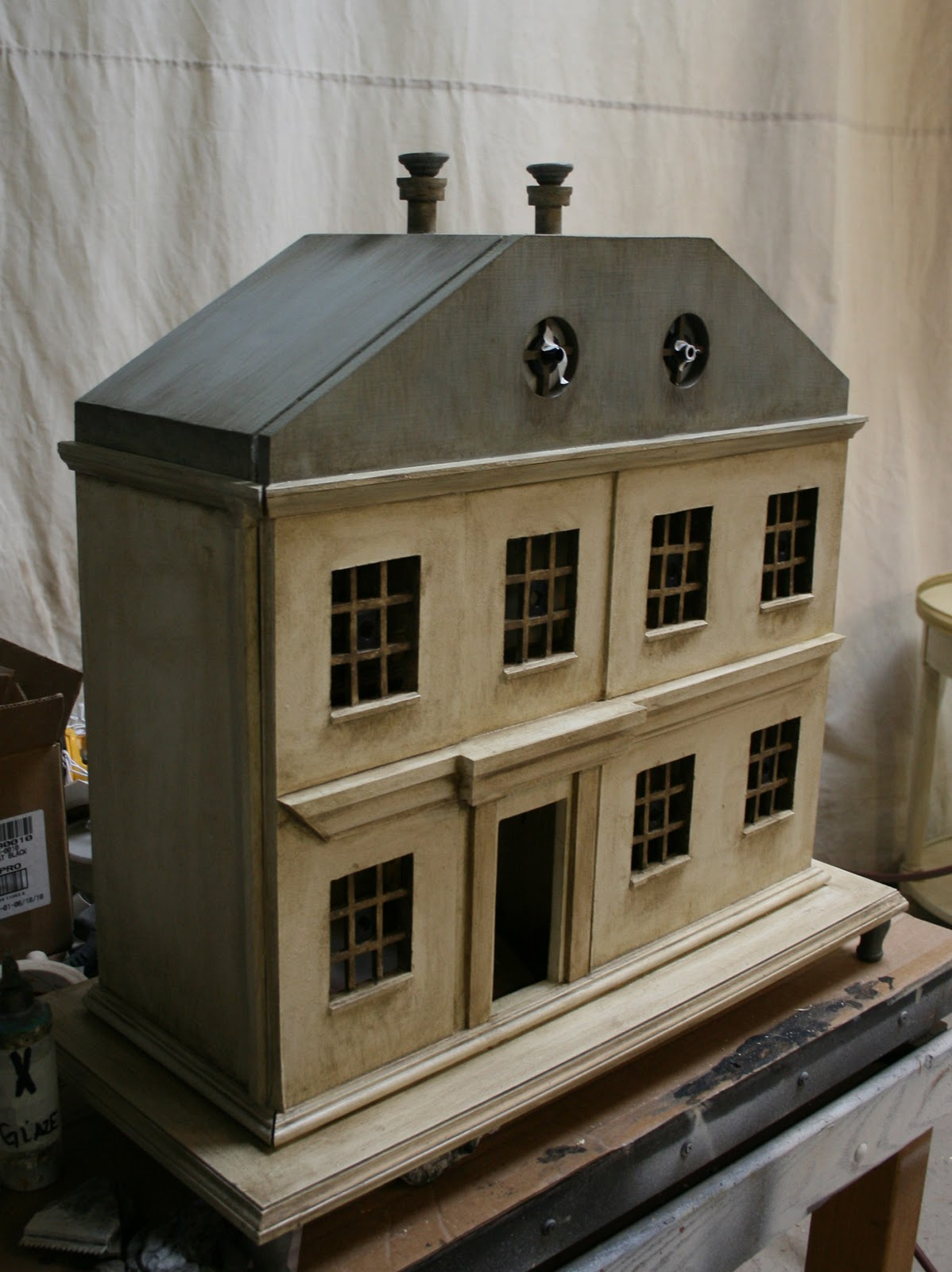 Dollhouse 39 S For The Evergreen House Auction Mclain Wiesand