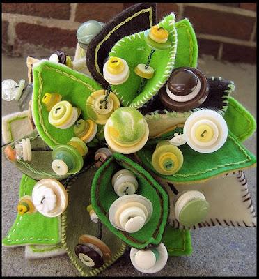 Green Wedding Bouquet Alternatives