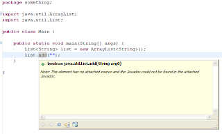 Heresylabs: Eclipse and NetBeans compared Javadoc Not Found Netbeans