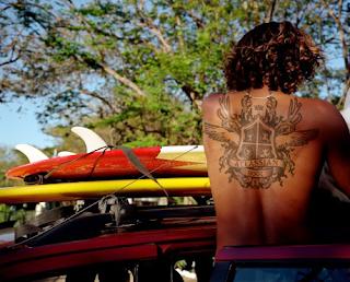 Tattoos Girls Black Color