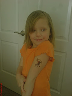 child tattoos, body tattoos