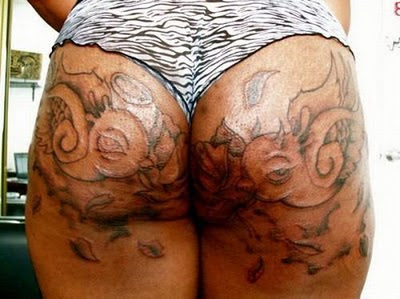 Double check butt tattoo for Tattoos on your butt