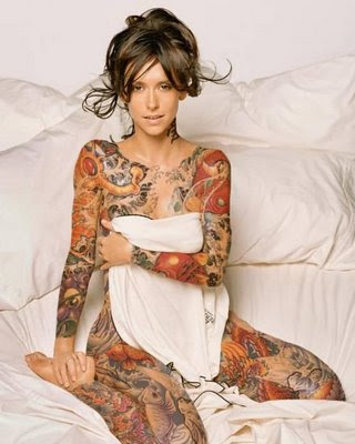 sleeve tattoos for girls. sleeve tattoos with roses.