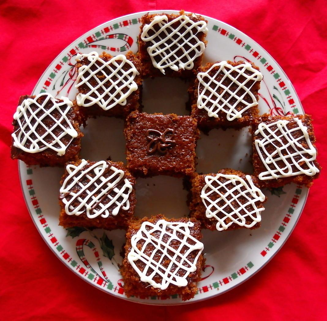 SWEET AS SUGAR COOKIES: Gingerbread Snacking Cake