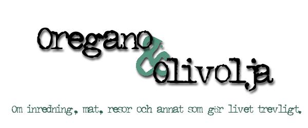 Oregano och Olivolja