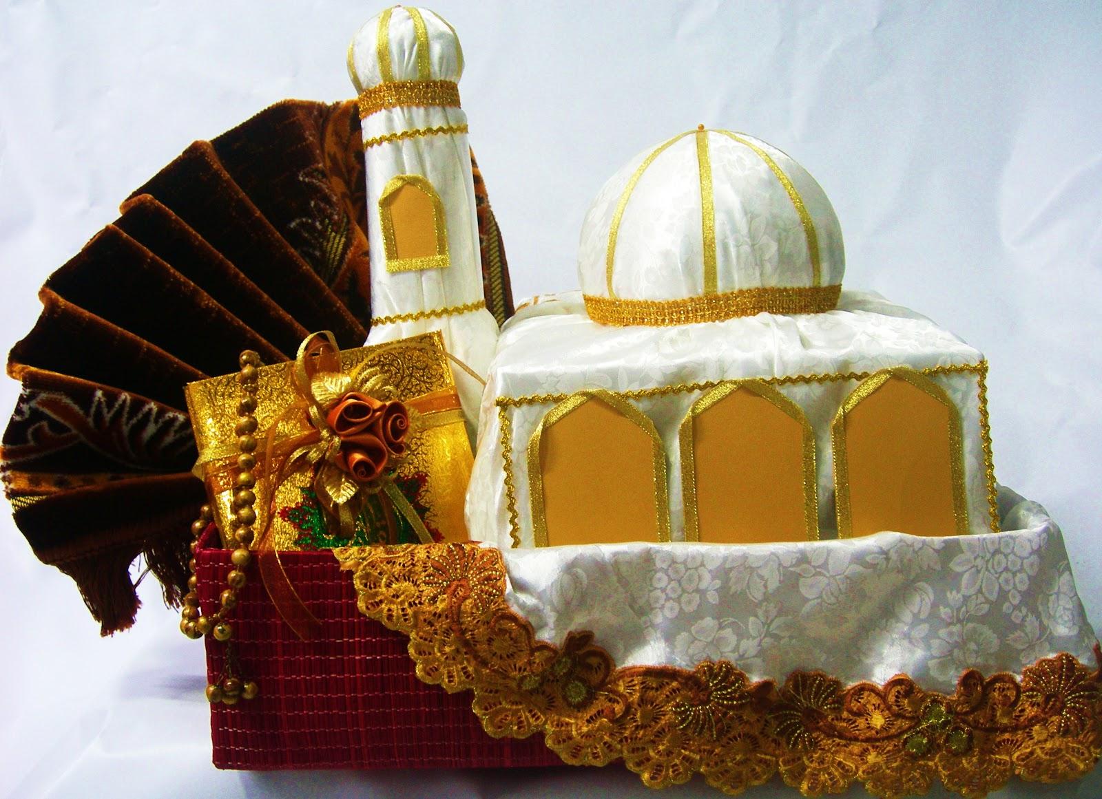 Contoh Miniatur Masjid yang sudah jadi :