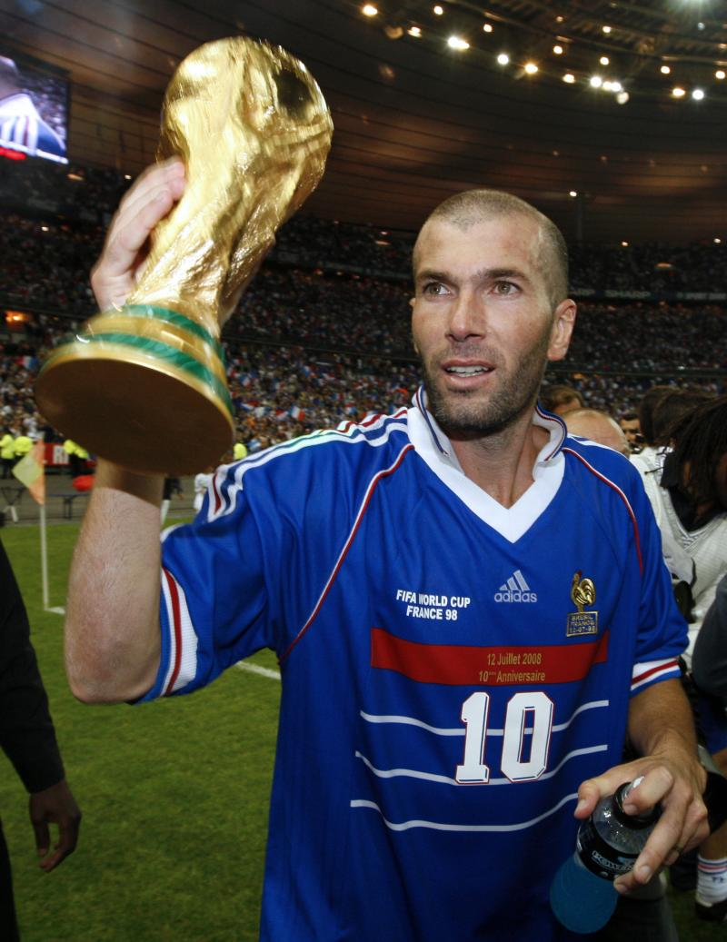 Football retro equipe de france coupe du monde 1998 - France 98 coupe du monde ...