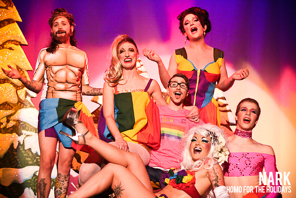 Review Homo For The Holidays The Dina Martina Christmas Show The