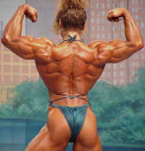 Female Muscle Big Andrulla Blanchette
