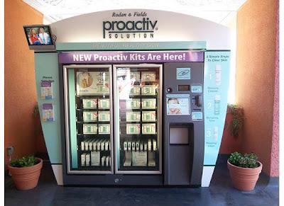 proactiv vending machine prices