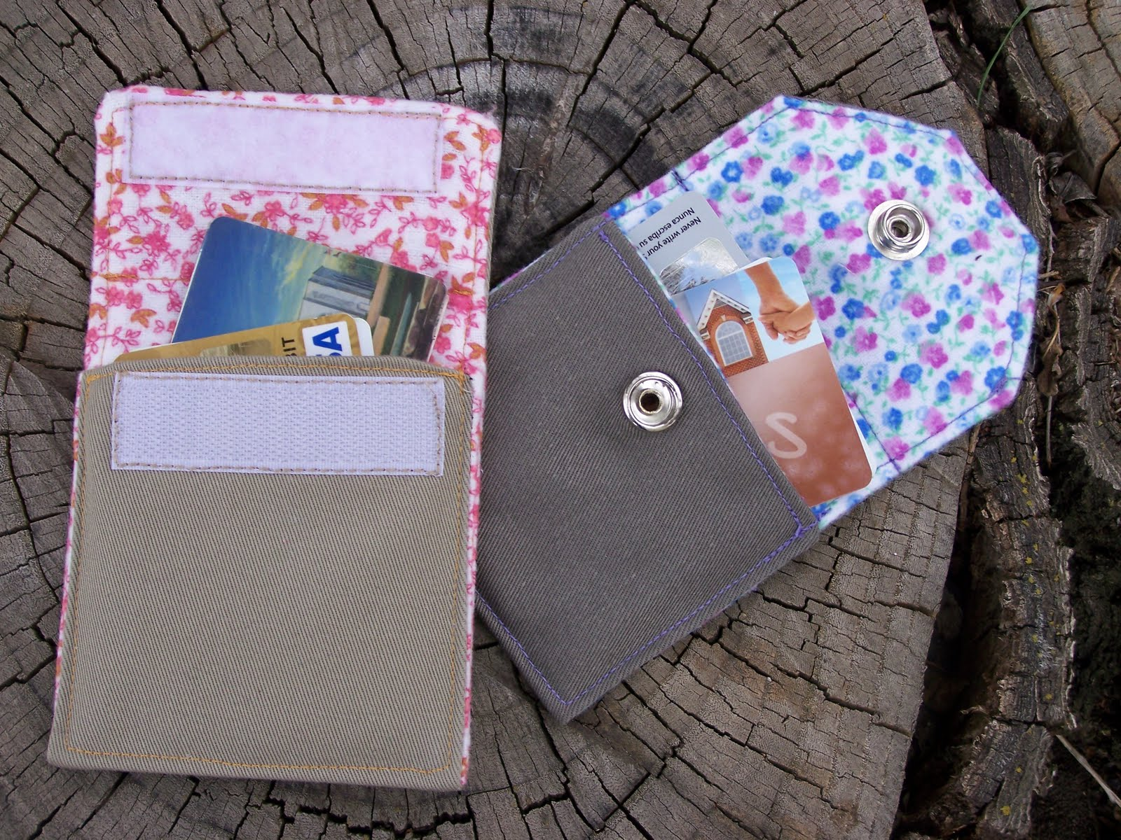 Made by Me. Shared with you.: Card Wallet Pattern with Little Birdie ...