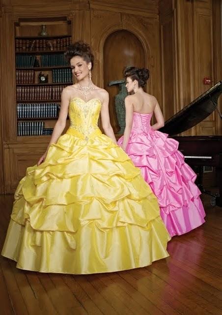 Vestidos: xv años modernos