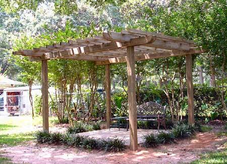 Pergolas de madera jardin type - Pergolas para jardin baratas ...